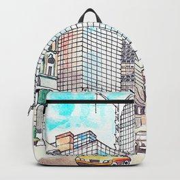 Torontos Old & New Buildings Backpack