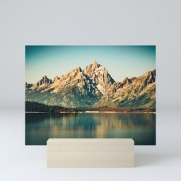 Mountain Lake Escape Mini Art Print