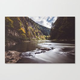 Dunajec River - Landscape and Nature Photography Canvas Print
