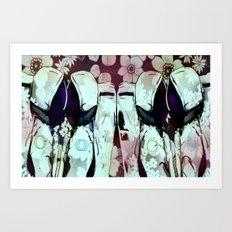 Love in Space Art Print