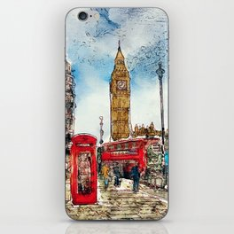London Icons iPhone Skin