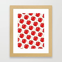 Candy Apple Framed Art Print