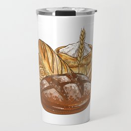 Bread Travel Mug