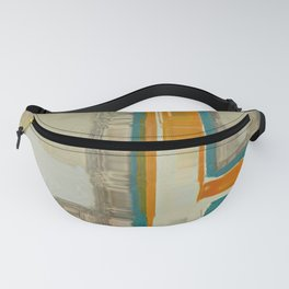 Mid Century Modern Blurred Abstract Art Best Most Popular by Corbin Henry Fanny Pack