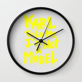 Karl told me // Summer 2014 edition // Wall Clock