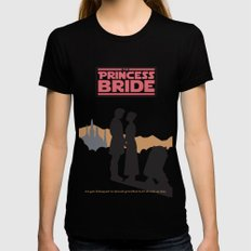 The Princess Bride LARGE Womens Fitted Tee Black