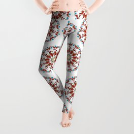 Hand drawn Mandala design Leggings