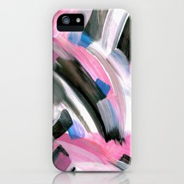 Crossing Pink iPhone Case