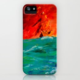 Asking for Help iPhone Case
