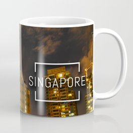 Moonlight in Singapore Coffee Mug