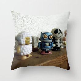 I would call him WOODROW Throw Pillow