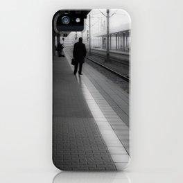 Mannheim Train Station (vertical) iPhone Case