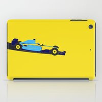 f1 iPad Cases featuring Alonso Renault F1 by Salmanorguk