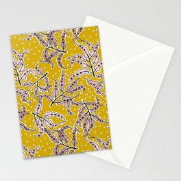 energetic leaves Stationery Cards