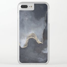A Splash of Royalty Clear iPhone Case