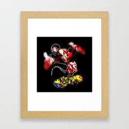 VANDALIZED Framed Art Print