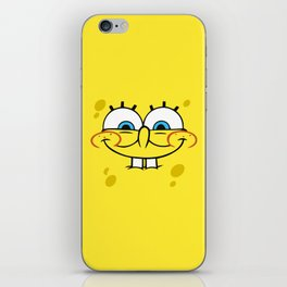 Spongebob Naughty Face iPhone Skin