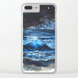 One Of These Days I'm Gonna Lay Down Clear iPhone Case