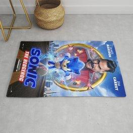 The Hedgehog Sonic 2020 Rug