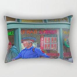 Gyros of Seattle Rectangular Pillow