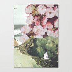 Au bord du vide Canvas Print