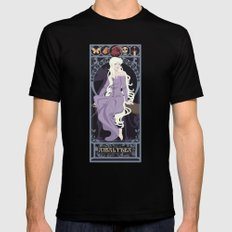Amalthea Nouveau - The Last Unicorn Mens Fitted Tee MEDIUM Black