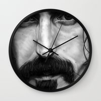 frank Wall Clocks featuring Frank by ClaM