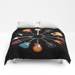 Guitar Circle Comforters