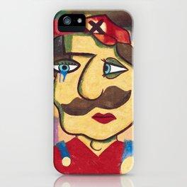 Mario Picasso iPhone Case