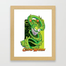 Team Glow Worm Framed Art Print
