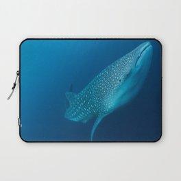 Whale shark stare Laptop Sleeve