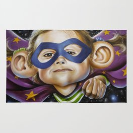 Super Kiddo Graffiti Rug