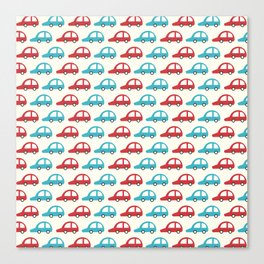 Beep Beep! (Patterns Please) Canvas Print