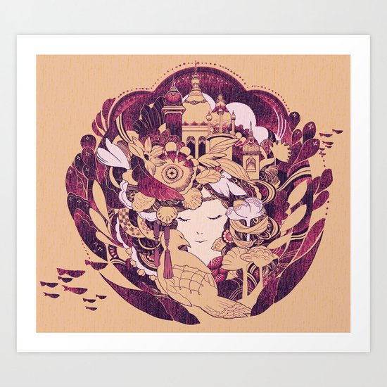Kingdom Art Print