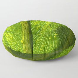 Spotted Leaf Floor Pillow