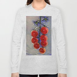 Cherry tomatoes on a branch Long Sleeve T-shirt