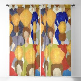 Women and pots (Mulheres e potes) Blackout Curtain