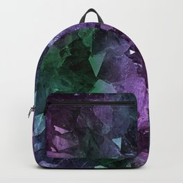 Crystal Geode Backpack