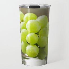 Green Grapes 2 Travel Mug