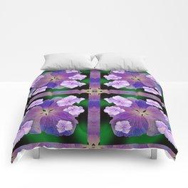 LACECAP HYDRANGEA FLOWER BOUQUET  Comforters