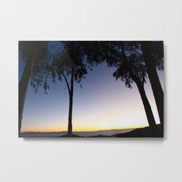 Isla Del Sol Sunset 2 Metal Print