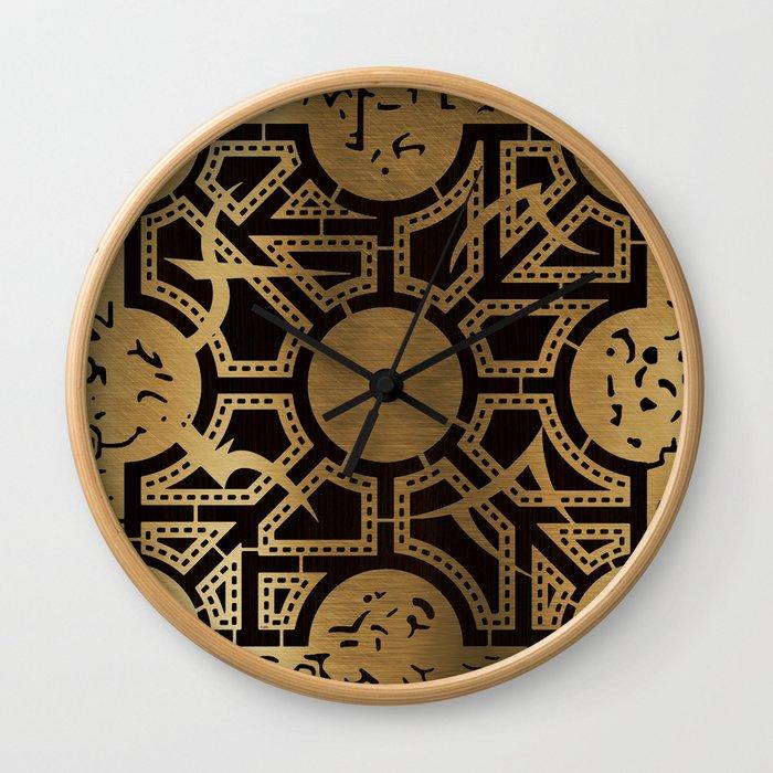 Lament Configuration Side D Wall Clock
