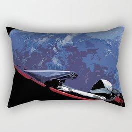 Starman Stylized Rectangular Pillow