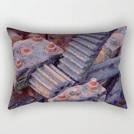 Rusty Gears Rectangular Pillow