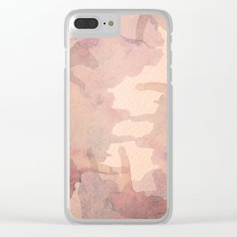 Tearing Down the Rubble Clear iPhone Case