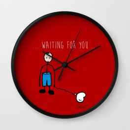 without you there is nothing Wall Clock