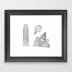 Point of view... Framed Art Print