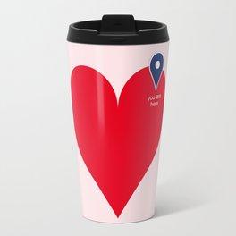 You are here  #valentinesgiftideas #homedecor #love Travel Mug