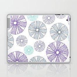 white sea urchin Laptop & iPad Skin