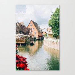 La Petite Venise Colmar Canvas Print